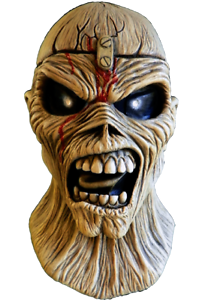 Piece of Mind Eddie Mask Iron Maiden