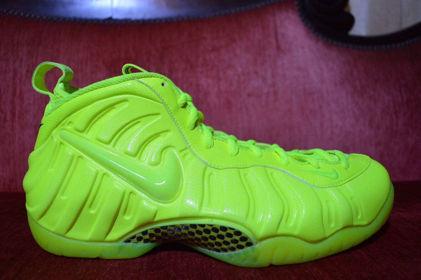 Vnds nike air foamposite pro tennis da giallo - verde 624041 700 44