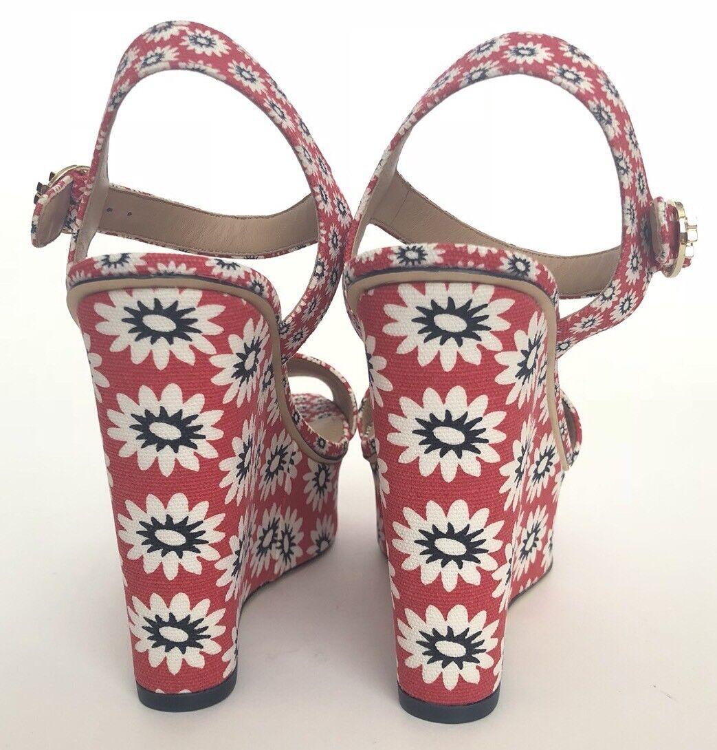 Tory Burch Damens Schuhes Größe 9 NIB NIB 9 Platforms Sandales Floral 846456