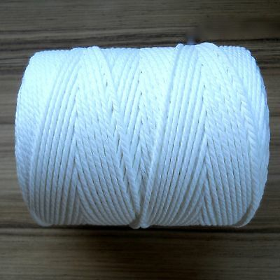 Poly Flex Foam Welt Piping Cord WHITE 10 YARDS