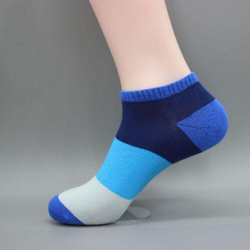 Neue Farbe Beiläufige Baumwollnähte Bunte Weiche Bequeme Gezeiten Kurzen Socken