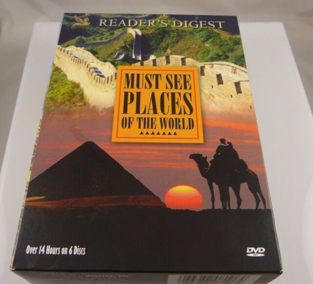Must See Places of the World (DVD, 2009, 6-Disc Set) readers digest dvds