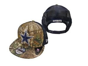 b12d1dd0c Image is loading Dallas-Cowboys-New-Era-9FIFTY-Realtree-Trucker-Mesh-