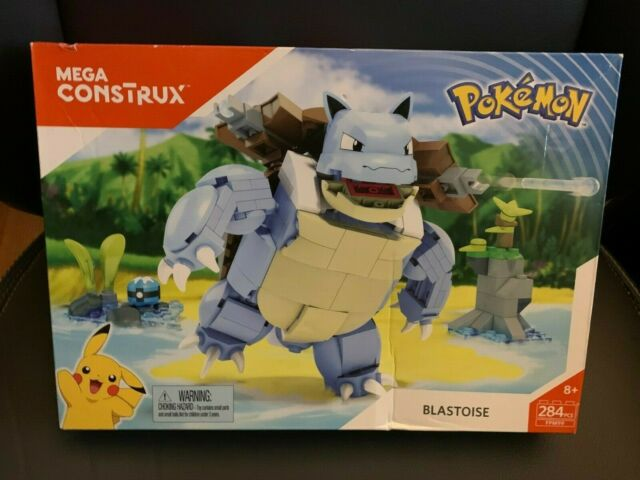 Mega Construx Pokemon Blastoise 284 Pieces FPM99 New Building Set