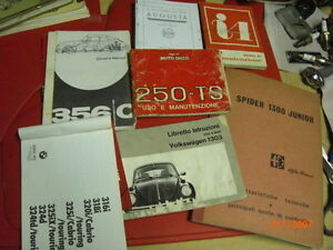 Porsche-Guzzi-vw-Innocenti-ecc-manuali-uso