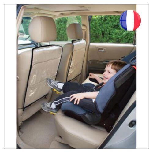 Lot De 1 Protection Housse Dossier Arrière Siège Auto Voiture Enfant Bébé Neuf