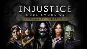 Injustice: Gods Among Us Ultimate Edition - Region Free Steam PC Key