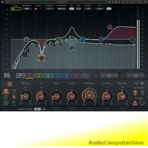 Waves-F6-Floating-Band-Dynamic-EQ-Equalizer-Audio-Software-Plug-in-NEW