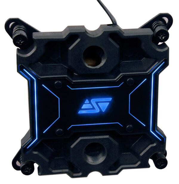 Swiftech Apogee-XL 4 Color LED (B,R,G,Clear) Intel/AMD CPU Water Block
