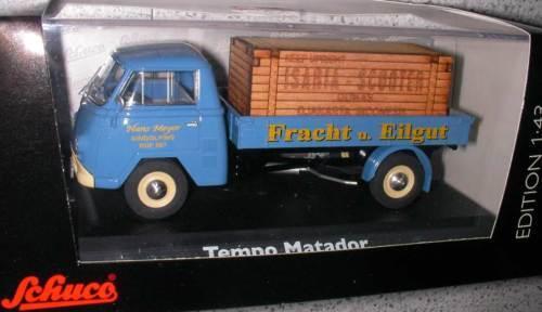 Schuco Tempo  Matador Fret EILGUT   limite Isaria Scooter 1 43 terminé modèle  livraison gratuite et rapide disponible