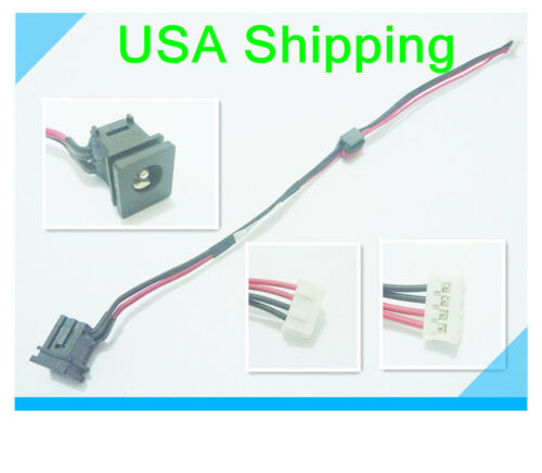 Original DC power jack cable harness for TOSHIBA Satellite M205-S4804 M205-S4806