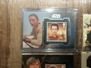 2016-STAR-WARS-MASTERWORK-STAMP-CARDS-LOT-FINN-AND-REY-249
