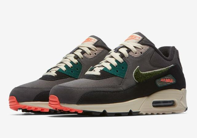 Nike Air Max 90 Premium SE black white Men running shoes 858954 003