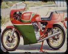 Ducati 900 Mhr 79 1 A4 Metal Sign Motorbike Vintage Aged