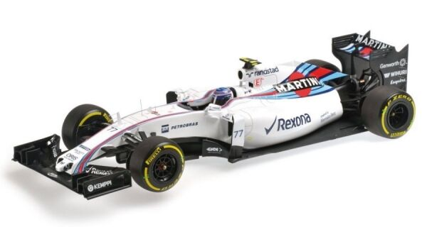 Williams MERCEDES fw37 n. 77 formula 1 2015  Valtteri Bottas