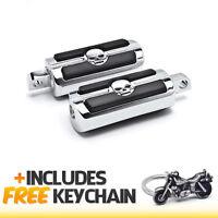 Harley Davidson Skull Head Front & Rear Foot Peg Rest Chrome+cruiser Keychain on sale