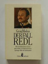 Georg Markus Der Fall Redl Ullstein Verlag