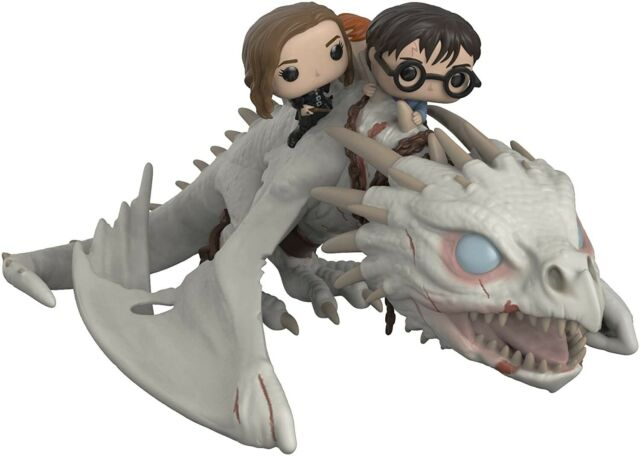 Figurine Harry Potter - Pop Ride Dragon with Harry, Ron & Hermione