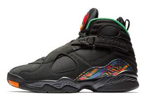 timeless design d4b2b 35514 Image is loading Jordan-Retro-8-034-Air-Raid-034-Black-