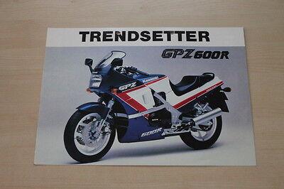 Kawasaki Gpz 600 R Prospekt 198? Honest 167113 Ebay Motors