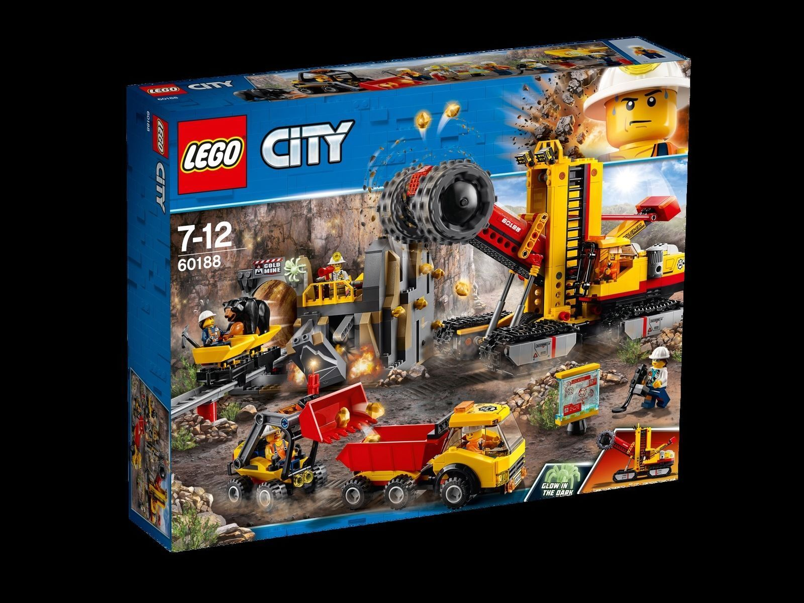 LEGO 60188 City Bergbauprofis an der Abbaustätte NEU