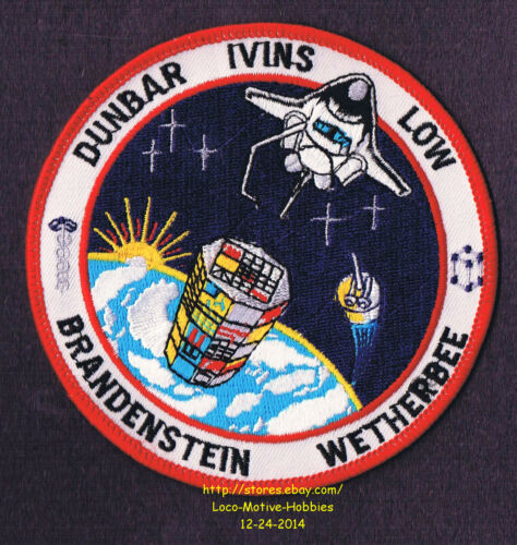 LMH PATCH Badge  NASA SPACE SHUTTLE Columbia  1990 STS-32 Mission Insignia 4.25/""