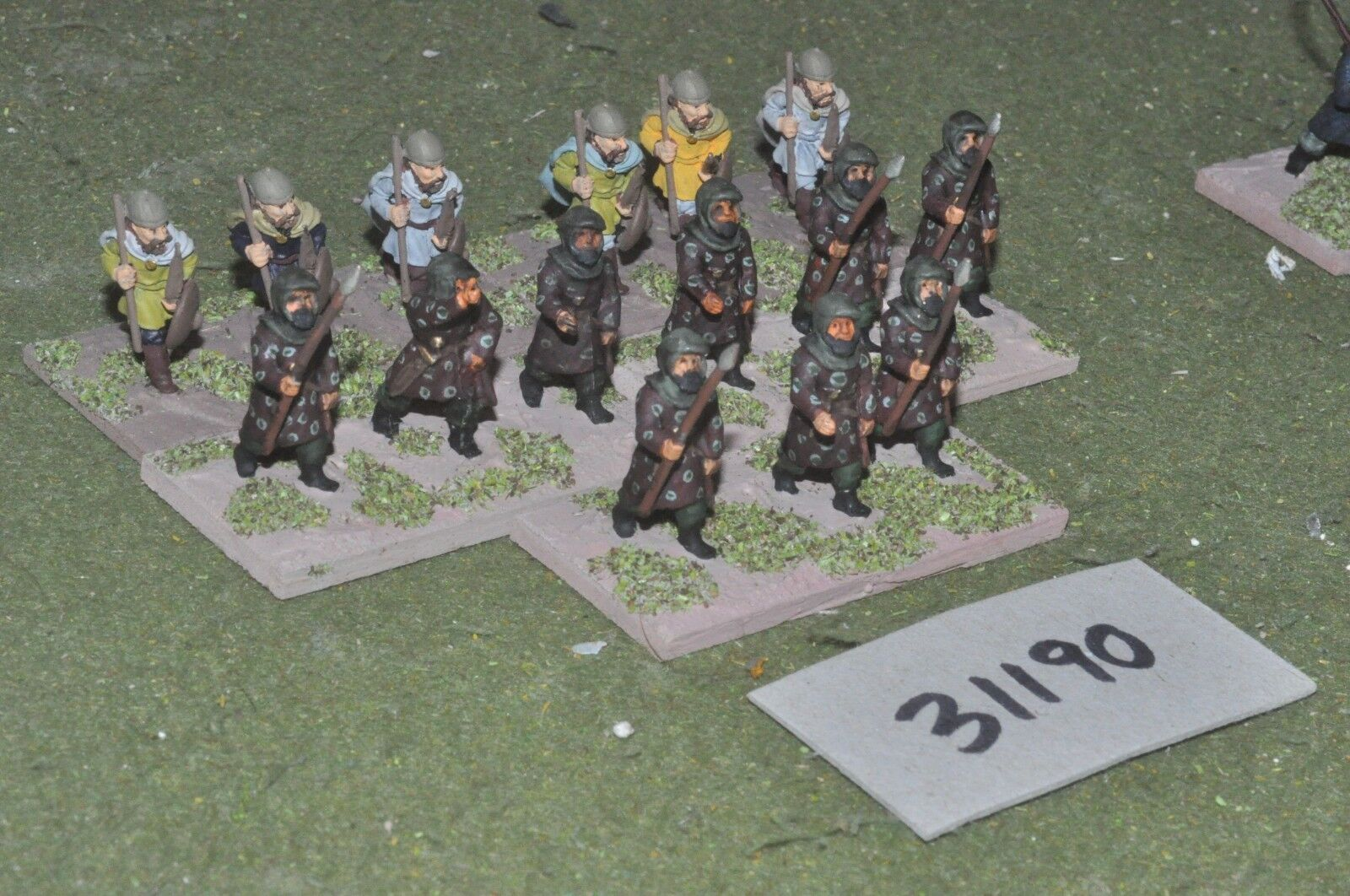 25mm classical   persian - spearmen 15 figures - inf (31190)