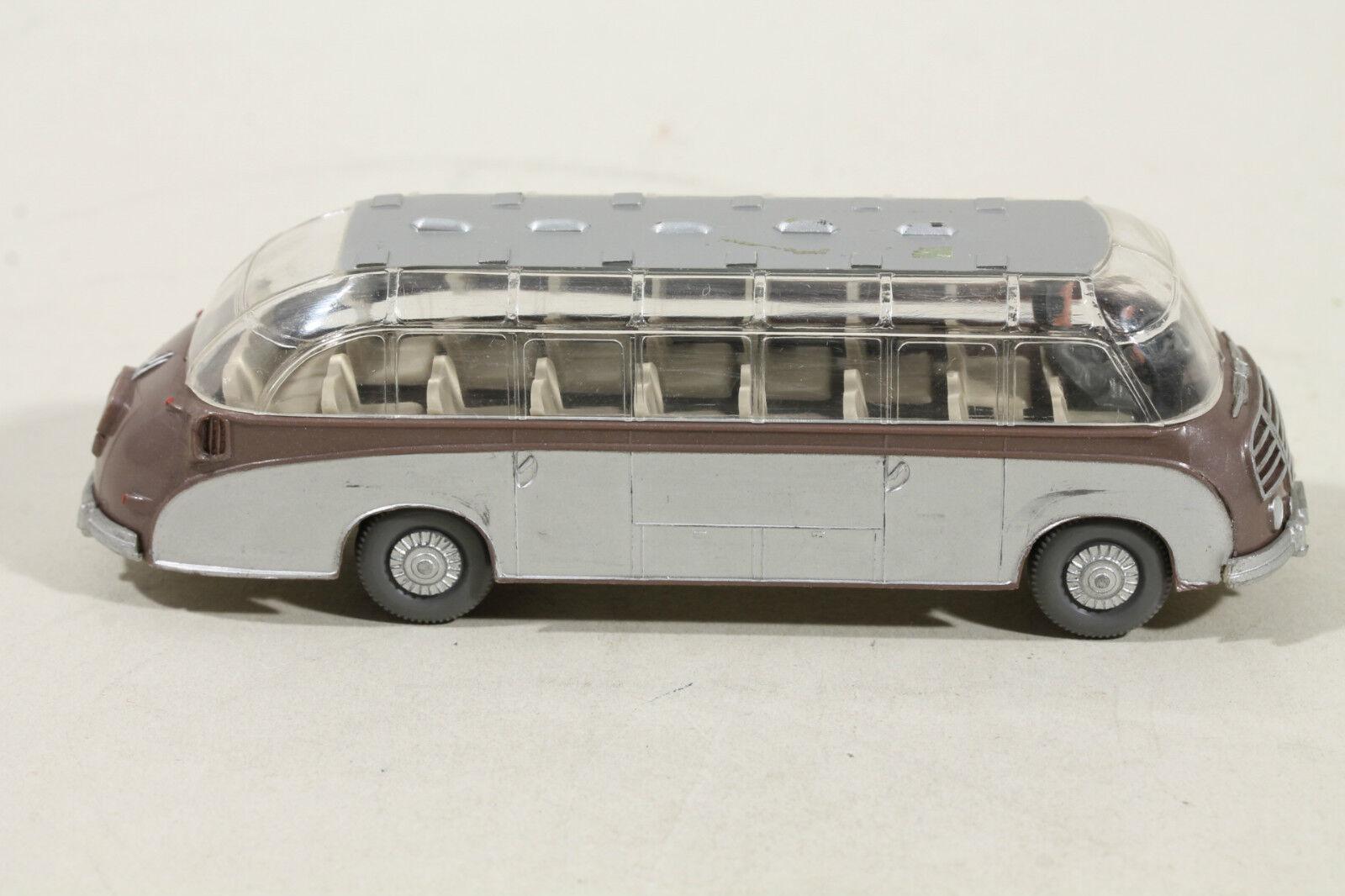 1166 tipo 3c Wiking setra-bus 1956 - 1968 marrón metalizado