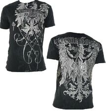 AFFLICTION XXL GSP TRADITION Xtreme Couture George St Pierre T shirt NEW UFC Tee