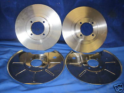 MG MGB 1.8 1.8 GT 62-81 Drilled /& Grooved Front Brake Discs