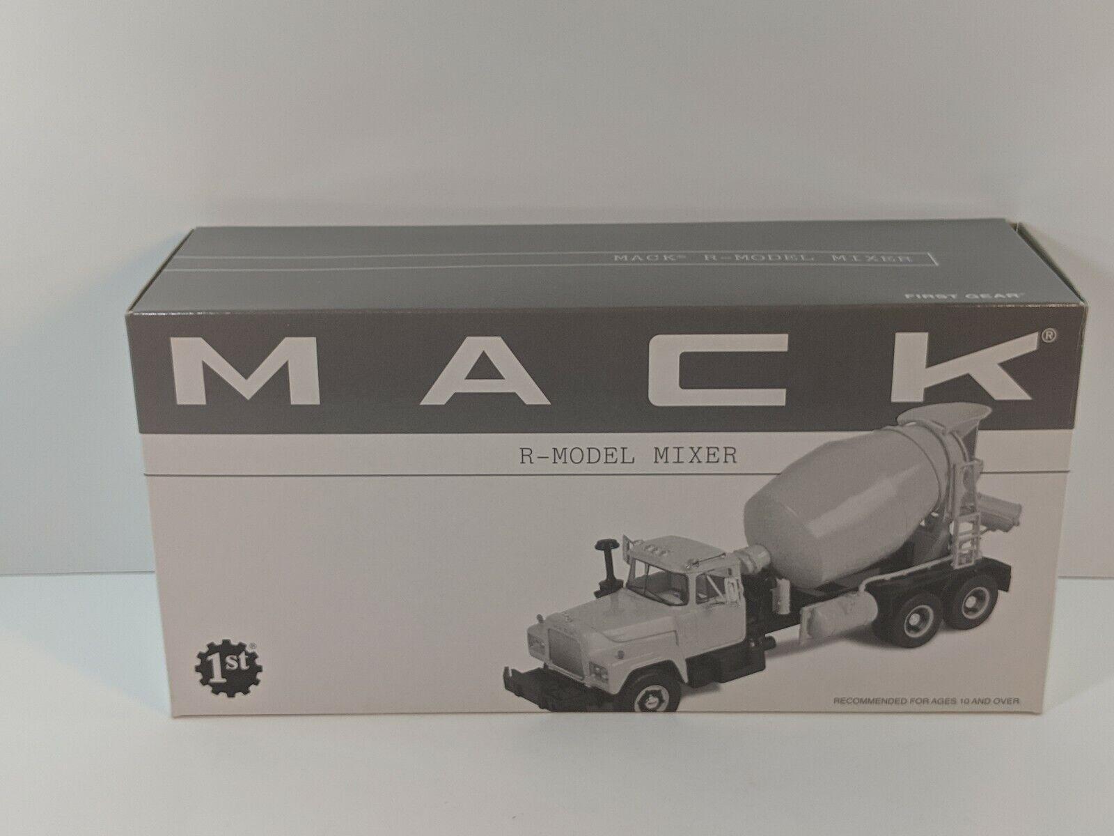 First Gear R-Model Mack Mixer Truck - Rahn's 1 34 Scale  18-2279