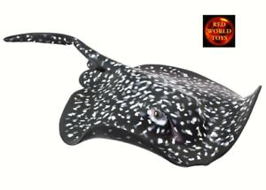 Grande-1-3-Escala-Modelo-Juguete-De-Marmol-Ray-Sealife-por-SAFARI-LTD-100317-Nuevo-Con-Etiqueta