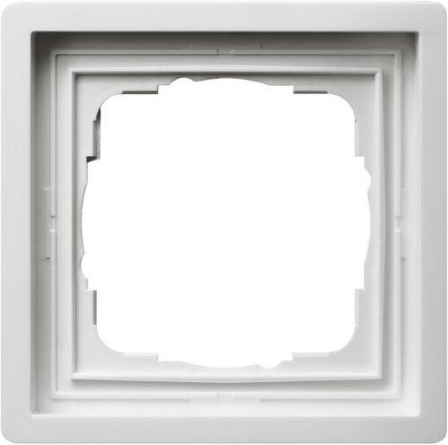 Gira Abdeckrahmen 1fach Flächenschalter Reinweiß 0211112