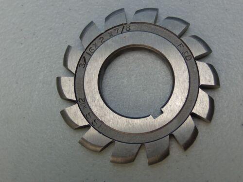 "F/&D Cutting Tools Convex Cutter...HSS-M2...3//16/"" x 2/"" x 7//8/"""
