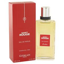 Habit Rouge by Guerlain 3.3 oz Eau De Parfum Spray for Men NIB