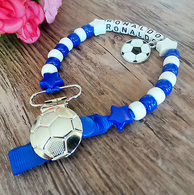 Personalizzata Blu & Bianco Calcio Tema Manichino Clip Per Bambole Rinate-mostra Il Titolo Originale Essere Romanzo Nel Design