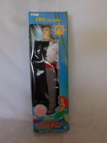 1991 Collectible TYCO Disney The Little Mermaid ERIC the Sailor Doll Brand new