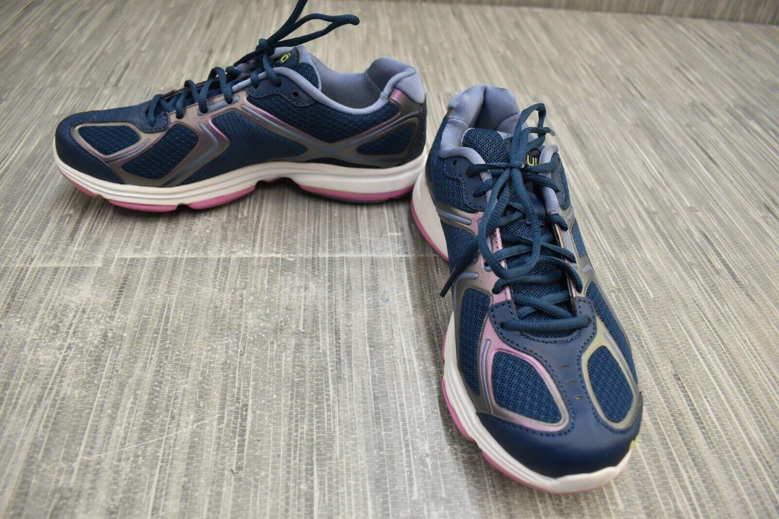 Ryka Devotion Walking Chaussures de sport, femme taille 7 m, bleu marine