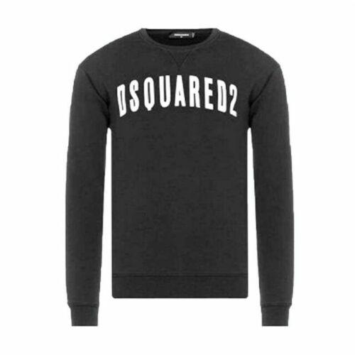 """Grande Dsquared 2 Men/'s Crew Sweat-shirt 40/"""" S7IGU0187-900"""