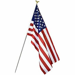 3x5 American Flag w/ Grommets For Pole ~ United States Of America ~ USA US