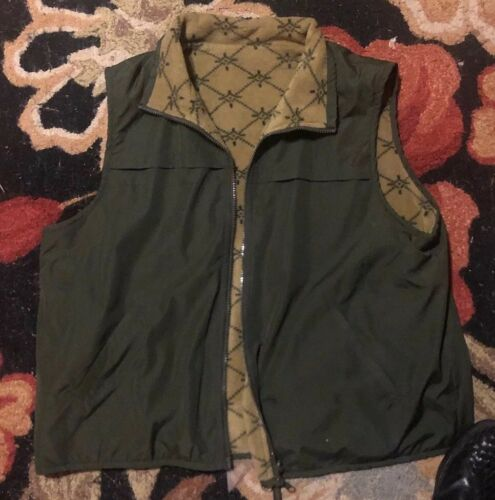 CATALINA XL Women's  Zip Vest Olive Green Army  fl