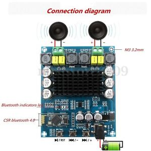 2020-TPA3116D2-120W-120W-Wireless-Bluetooth-4-0-Audio-Receiver-Amplifier-Board