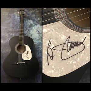 GFA Hooked on a Feeling B.J. THOMAS Signed Autograph Acoustic Guitar B5 COA