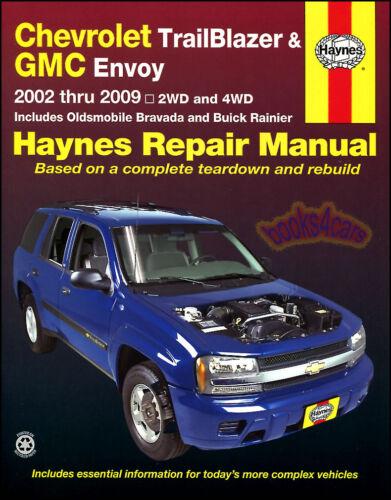 GMC ENVOY SHOP MANUAL REPAIR BOOK XL HAYNES SERVICE GM
