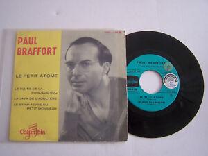 EP-45-T-VINYL-4-TITRES-PAUL-BRAFFORT-LE-PETIT-ATOME-VG-VG-RARE