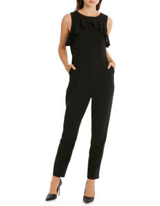 ff8cfc37908 Image is loading NEW-Tokito-Collection-Ruffle-Jumpsuit-Black