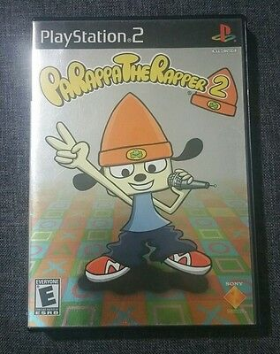 PaRappa the Rapper 2 PS2 (Sony PlayStation 2, 2002)