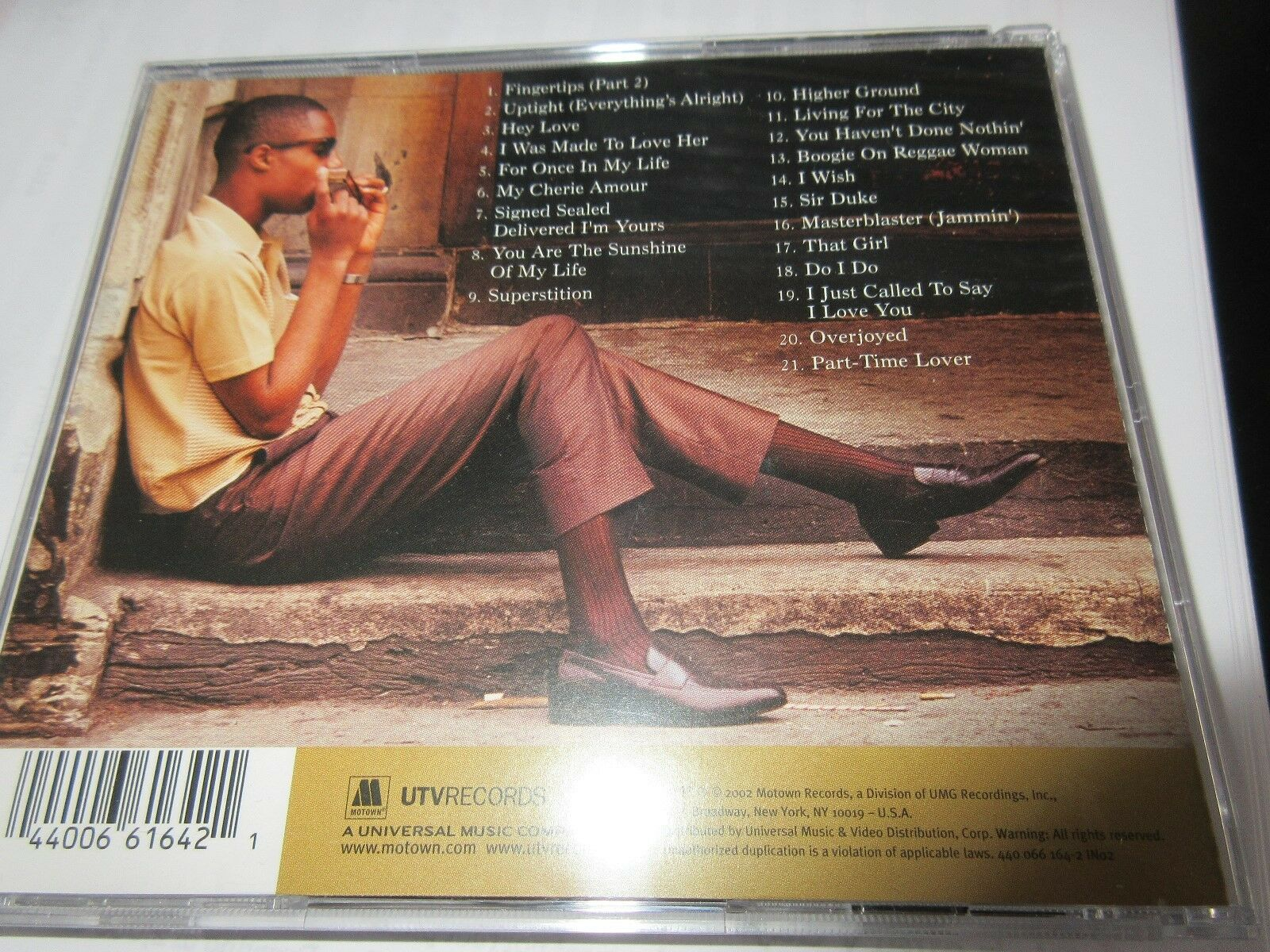 Stevie Wonder , CD , The Definitive Collection 40003721