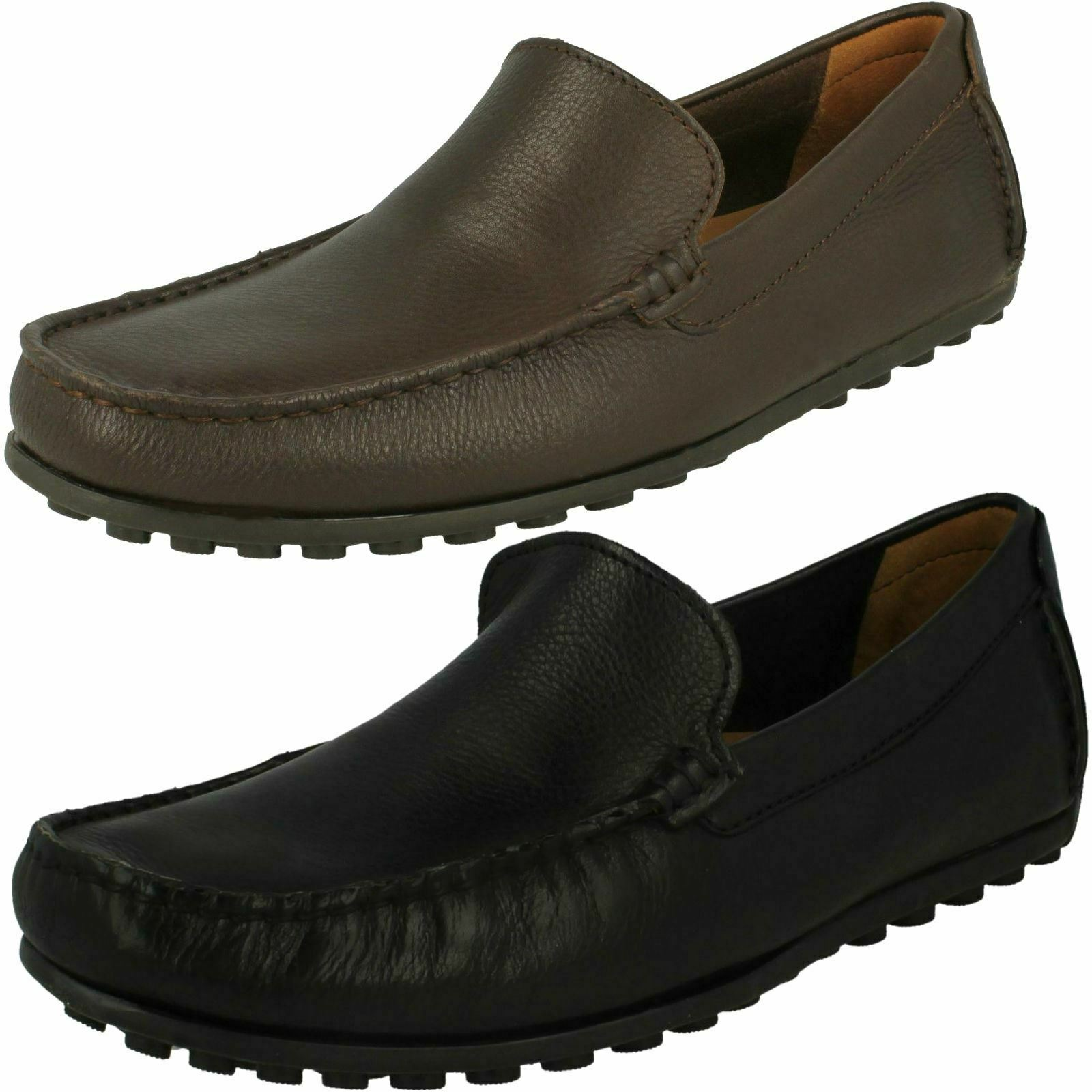Clarks da men Hamilton Gratis Infilare Party Mocassini shoes Comode