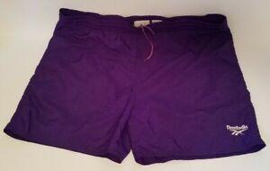 Vintage Eddie Bauer Swim Trunks-  Shorts Size Medium Purple Hiking Shorts - Sport Shorts Embroidered